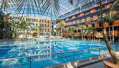 [Translate to en:] Veranstaltungsraum Wellenbad Hotel Victory Therme Erding
