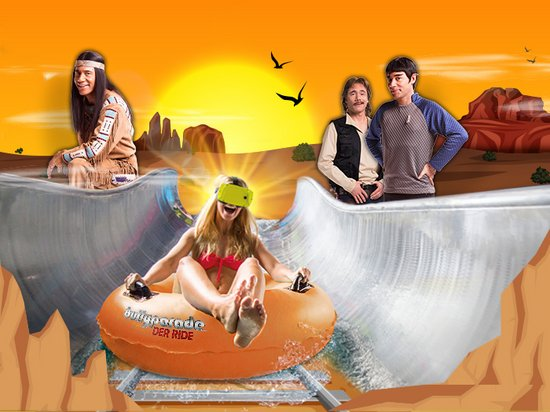 Therme Erding Bullyparade The Ride